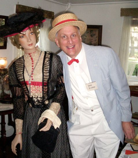 David and the mannequin